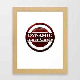 Dynamic duo inner circle Framed Art Print