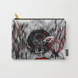 Death in a Fantasy Carry-All Pouch