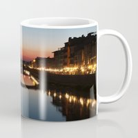 florence Mugs featuring Florence  by AntWoman
