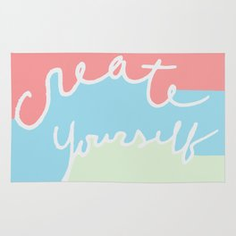 create yourself Rug