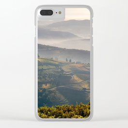 Vineyards, the Vale do Douro near Regua Clear iPhone Case