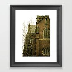 Historic church Framed Art Print