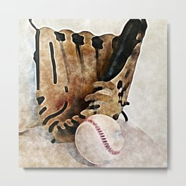 Baseball Dreams 2 Metal Print