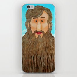 Jim's Amazing Beard iPhone Skin