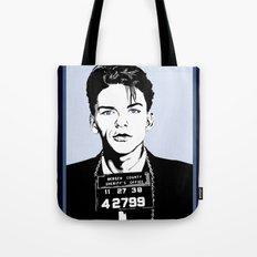 Frank Sinatra's mug shot Tote Bag
