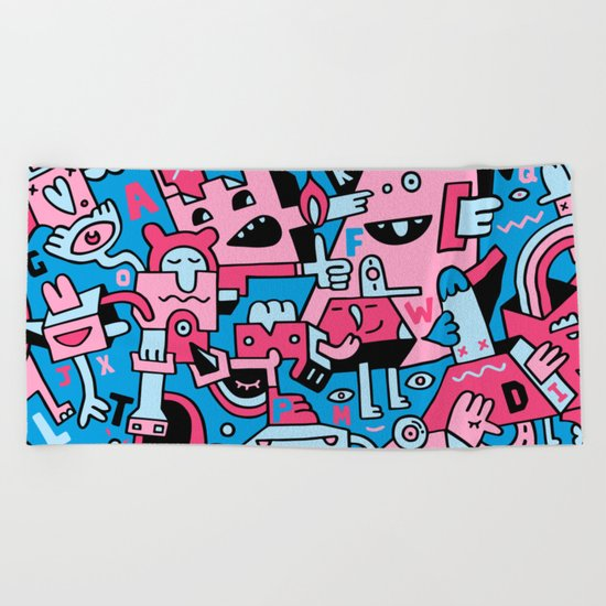 Bittaboard Beach Towel