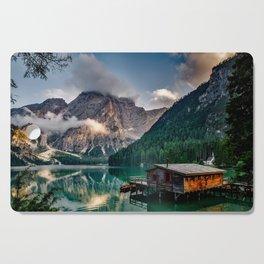 Italian Mountains Lake Landscape Photo Cutting Board