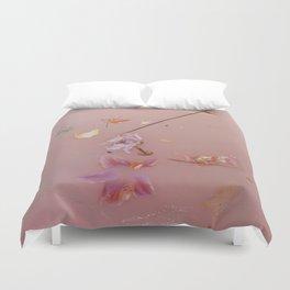 Pink Bath Photoshoot Duvet Cover