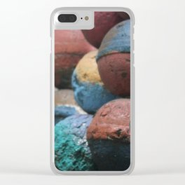 Nautical Buoys Clear iPhone Case