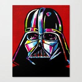 Retro Vader Canvas Print