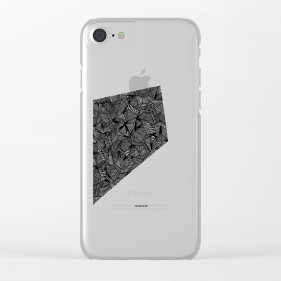 - the place - Clear iPhone Case