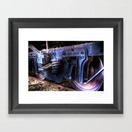 Grand Trunk Wheels Framed Art Print