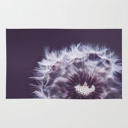 Violet Dandelion Rug