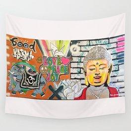 Good Karma Buddha Wall Tapestry