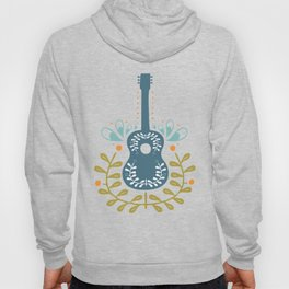 Fancy folk guitar Hoody