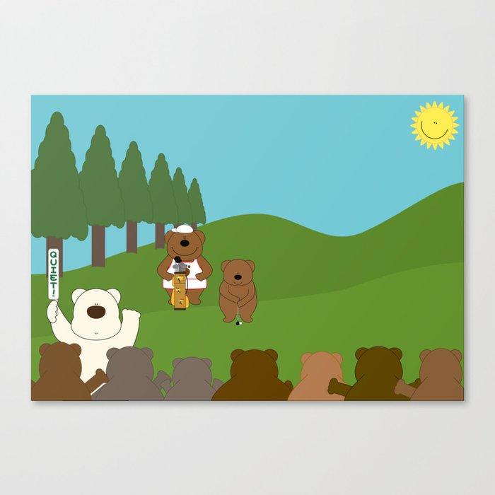WE♥GOLF Canvas Print