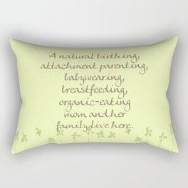 Natural Momma Rectangular Pillow