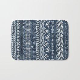 Mud Cloth Stripe Badematte