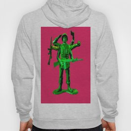 Mutated Green Army Man Hoody