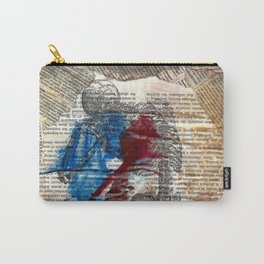 Vesalius mourning skeleton Carry-All Pouch