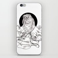 walrus iPhone & iPod Skins featuring Walrus by Hopler Art