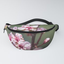 Red Plum Blossoms Fanny Pack