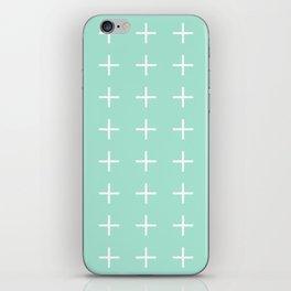 Plus + iPhone Skin