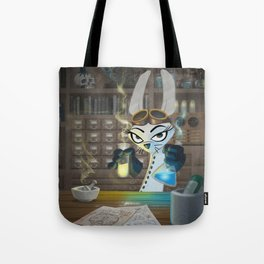 The Lair of the Dark Bunny Tote Bag