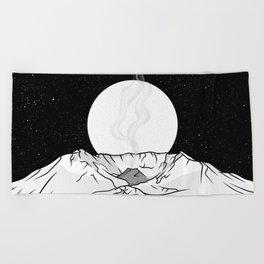Mount St Helens Beach Towel