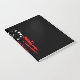 Old World Flag Notebook