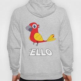 Used to be Noisy But Funny Talking Bird Tshirt Design  ello Hoody