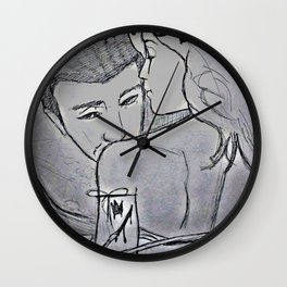 Grown Woman Business #1 (Muse collection)  Wall Clock