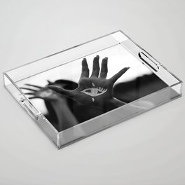 Seeing is Touching - Wide Acrylic Tray