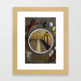Prague. Framed Art Print