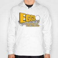 eggs Hoodies featuring Eggs! by Boots