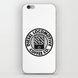 Diesel Locomotive Coffee Co. iPhone Skin