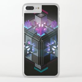 Hexagone Clear iPhone Case