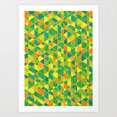Intersections Art Print
