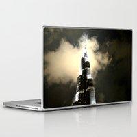 wiz khalifa Laptop & iPad Skins featuring Burj Khalifa - Dubai by Ruby_Dag