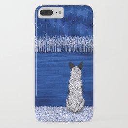 Blue Forest, Starry Sky (Blue Heeler) iPhone Case