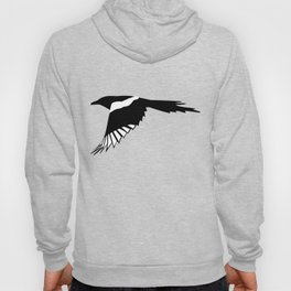 Pica Pica (magpie)  one Galery Giftshop Hoody