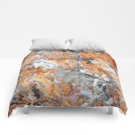 Rusty Rock Textures 47 Comforters