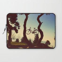 Bicycle Tree Laptop Sleeve