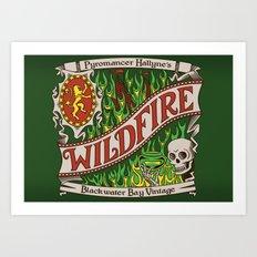 The Green Demon Art Print