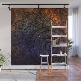 Space mandala 17 Wall Mural