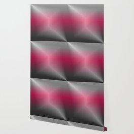 Metallic Hot pink Sheen Wallpaper