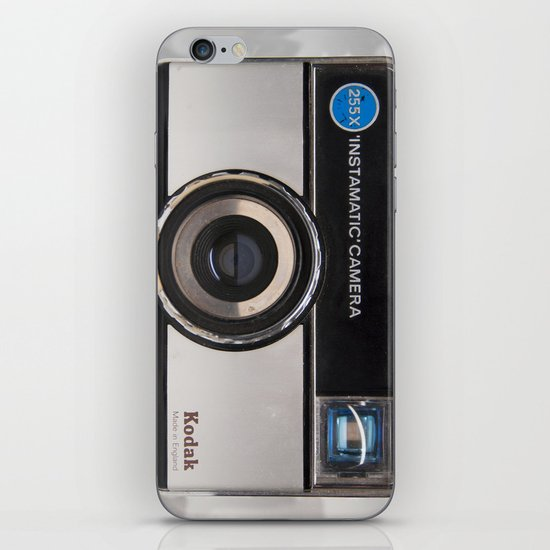 Instamatic Camera iPhone & iPod Skin
