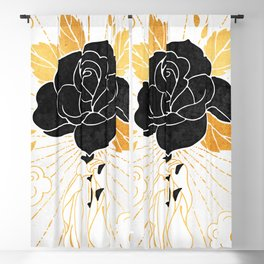 Black Rose Inktober :: Your Psyche Blackout Curtain