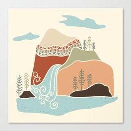 Southwest Mountain Canvas Print