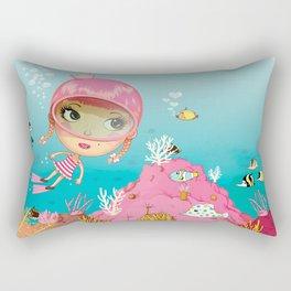 SAILOR PINK Undersea Rectangular Pillow